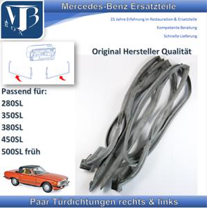 Mercedes-Benz W107 R107 SL Paar Türdichtungen in original Herstellerqualität