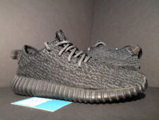 99981d07a600 ADIDAS YEEZY BOOST 350 KANYE WEST PIRATE BLACK BLUE GRAY CORE ZEBRA BB5350  9.5