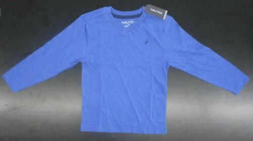 Toddler Boys $26.50 Nautica Cobalt Long Sleeved T-Shirt Sizes 2T 3T /& 4T