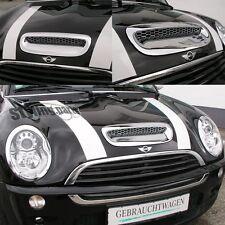 MINI COOPER S R52=Cabrio R53 - 11/06 CROMO CUBIERTA PARA TOMA DE AIRE EN CROMO