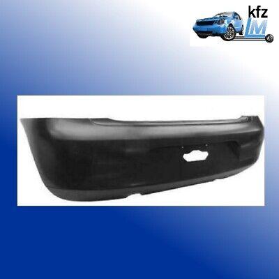 schwarz Glatt ABS Kunststoff Sto/ßstange hinten f/ür Fox Typ 5Z1 Bj 05