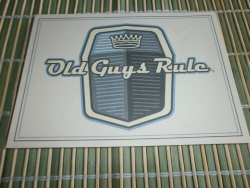 "10 OLD GUYS RULE GENIUNE CARDS WITH ENVELOPES ""TO MY KING OF THE ROAD"" 5""X 7"" V8"