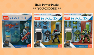 Mega-Construx-HALO-Power-Pack-Active-Camo-Cover-Ops-Siege-Armor-U-CHOOSE