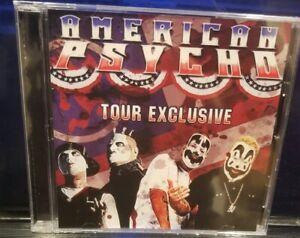 Insane-Clown-Posse-amp-Twiztid-American-Psychos-CD-SEALED-tour-rare-dark-lotus