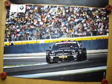 BMW M3 DTM BMW BANK Team Schnitzer Bruno Spengler Poster  Motorsport Racing
