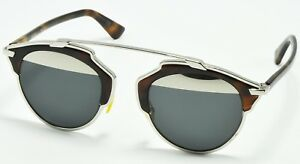 8c04e9acca Image is loading NEW-Authentic-DIOR-SoReal-AOOMD-Silver-Tortoise-Sunglasses-