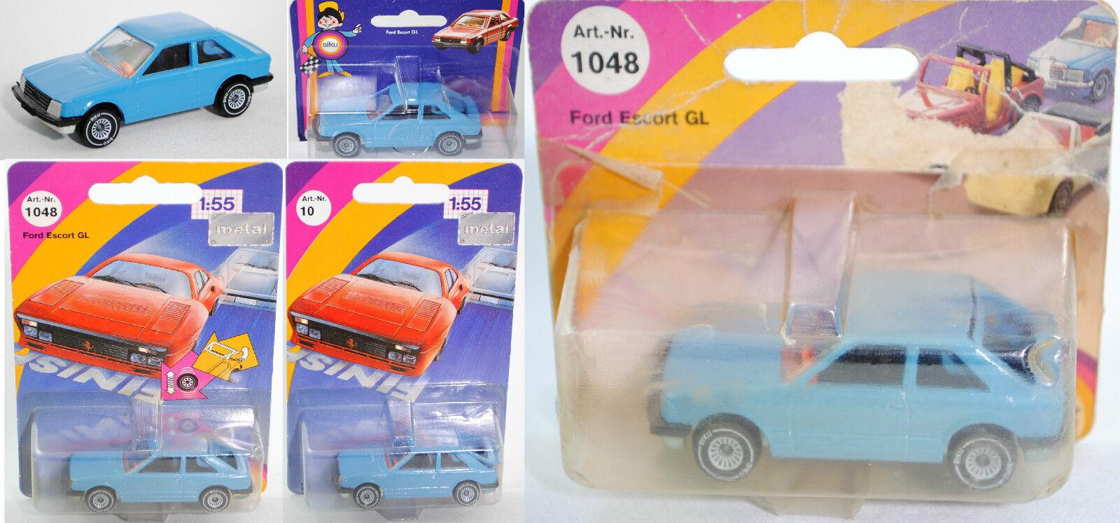 Siku Super 1048 Ford Escort 1.6 GL Dreitürer, ca. 1 55  | Überlegene Qualität