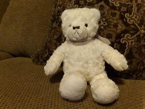 Adorable-14-034-NAP-Brookstone-Plush-Cream-Bear-w-Soft-Tan-Scarf-5b