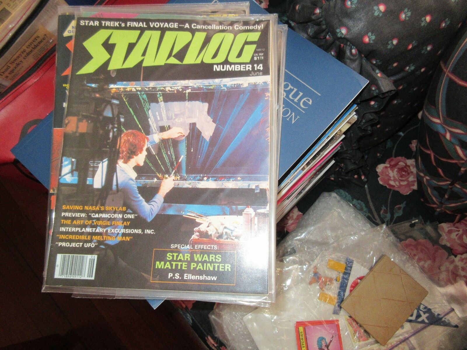 STARLOG , #14 , New/Old Inventory , Capricorn One , Vir