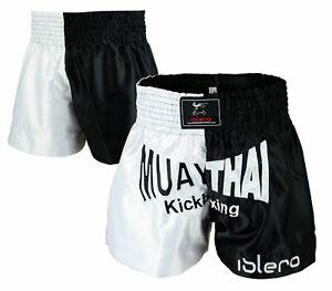 ISLERO MUAY THAI MMA KICK BOXING Lotta Pantaloncini Grappling UFC Arti Marziali Gear