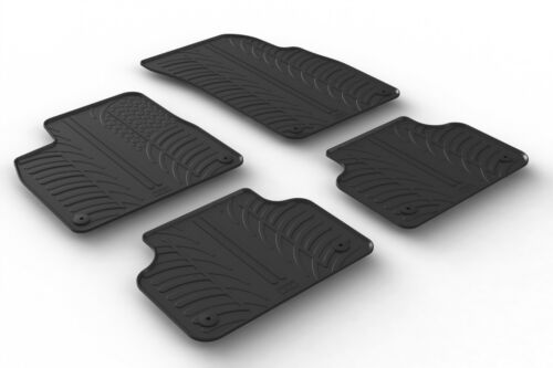 Design Passform Gummimatten Gummi Fußmatten mit Rand Audi Q7 /& SQ7 4M ab 06.2015