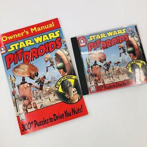 1999 Star Wars Pit Droids by Lucasfilm - PC & Mac - 300 Droid Puzzles