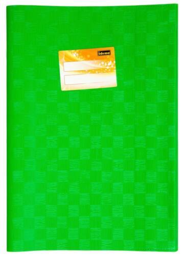 Farbe 10 Heftumschläge hellgrün Hefthüllen DIN A4 Baststruktur