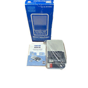 Radio-Shack-TRS-80-Computer-Cassette-Recorder-Tape-Drive-CCR-81-26-1208-A