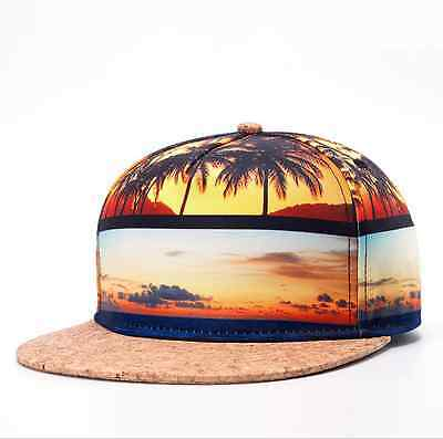 Mens Womens Fashion Hiphop Bboy Hat Adjustable Flat Snapback Baseball Dancer Cap