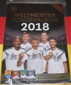 Rewe-Sammelalbum-DFB-WM-2018-NEU-und-OVP-Weltmeister-Sonderalbum-Leeralbum