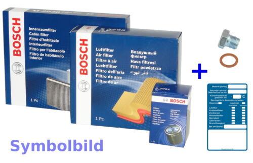 BOSCH Filtersatz Öl,Luft,Innenraum für FORD C-MAX II,FOCUS III,GRAND C-MAX
