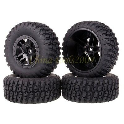 SET RC 1:10 Wheel Rim & Tyre,Tires For Traxxas Slash 4x4 Pro-Line Racing 1182-12