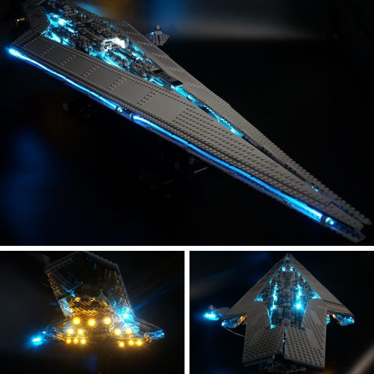 Advance Lumière DEL Set Kit pour LEGO 10221 Star  Wars Executor Super Star Destroyer  au prix le plus bas