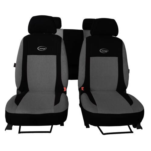 Universal Sitzbezüge Grau für Renault Megane I Schonbezüge Set Autositzbezug PKW