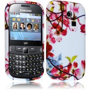 Détails sur Housse coque etui gel pour Samsung Chat 335 S3350 avec motif KJ12