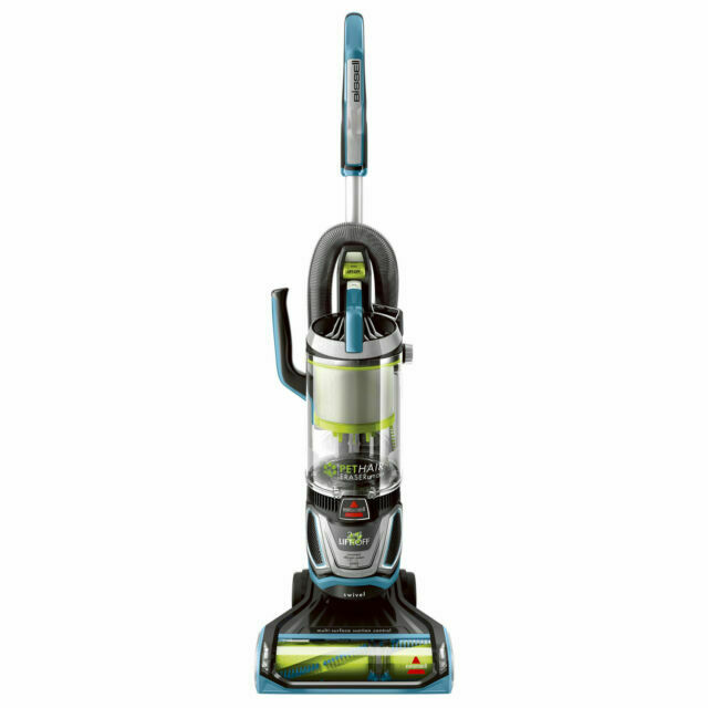 BISSELL 2087 Pet Hair Eraser Lift off Bagless Upright Vacuum Cleaner Disco Teal