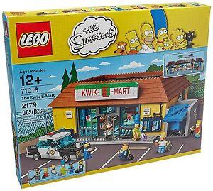 LEGO THE SIMPSONS - 71016 - Kwik-E-Mart