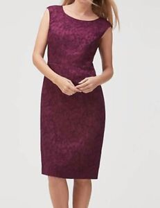 Jacques Rrp£199 Size 12 Dress Jacquard Chinois S139 Vert Bd4qHwaa