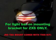 07-08 Kawasaki ZX-6R ZX6R ZX6 LIGHT BAR 2007 2008 BRAKE LIGHT W TURN SIGNALS