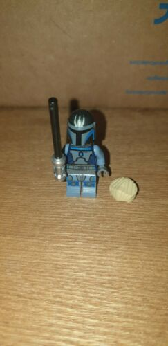 Lego Star Wars Minifigure Pre Vizsla Mandalorian NO CAPE 9525 This is the way!