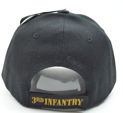 United States Army 3rd Infantry Division Adjustable Military Cap Hat