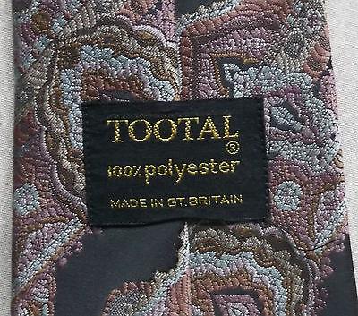 Acquista A Buon Mercato Vintage Tootal Cravatta Da Uomo Cravatta Larga Grigio Moda Retrò Rosa Scuro-mostra Il Titolo Originale Sapore Aromatico