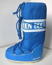 Tecnica MOON BOOT Nylon azurblau Gr. 35 - 38 Moon Boots Moonboots blau azur