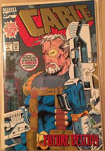 Marvel-Comics-Cable-1-Gold-Foil-Edition-1993-Comic-Book-NM