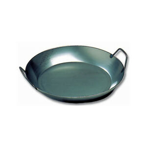 Matfer-062051-Black-Steel-Paella-Pan-14-1-8-034-Diameter-1-5-8-034-High