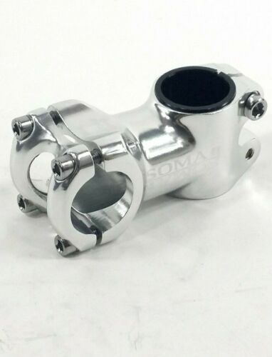 "Soma Shotwell Bicycle Stem SILVER 60 x 26.0mm x 1-1//8/"" Road Fixed Touring"
