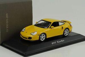 2003-Porsche-911-996-Turbo-Speed-Yellow-1-43-Minichamps-Wap-Dealer