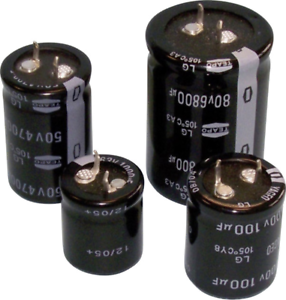 Teapo SLG159M025S1A5S35K Elektrolyt-Kondensator SnapIn 10mm 15000 µF 25V 20/% Ø