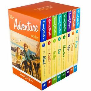Enid-Blyton-039-s-The-Adventure-Series-8-Book-Collection-Ship-of-Adventure-Sea-of-A