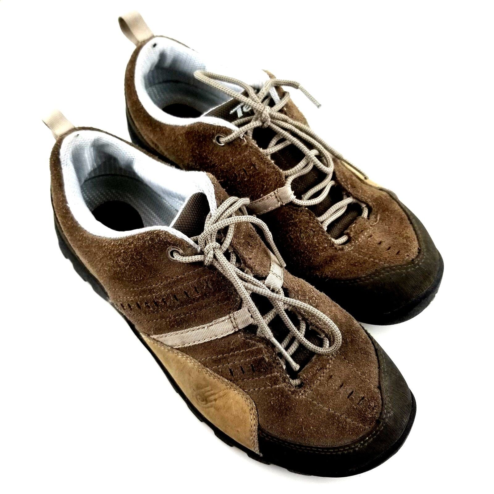 Teva Womens Size US 10 Brown Leather Trail shoes Hiking 6558