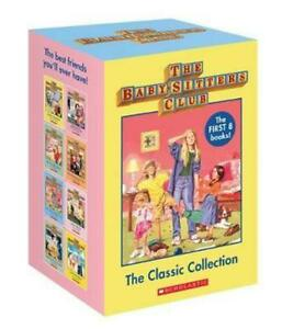 NEW-Babysitters-Club-The-Classic-Collection-8-Books-Boxed-Set-FREE-AU-SHIPPING