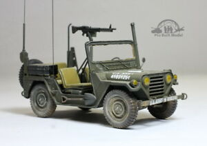 Pre Order Us Army M151a2 Military Jeep Vietnam War 1 35 Pro Built Model Ebay