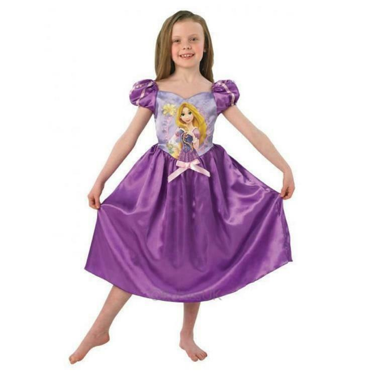 Disney Princess Rubies Rapunzel Story Time Costume Small Age 3-4 Years