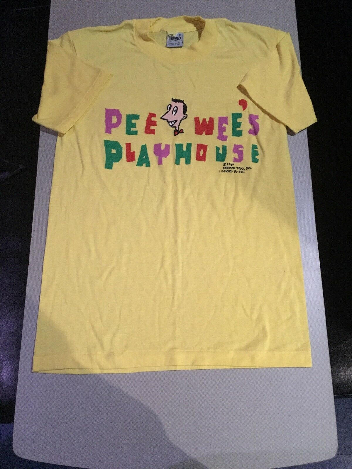 Vintage Pee Wee Herman Playhouse 1987 T Shirt Medium Rare Mint