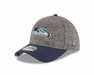 12fb36ec5 Seattle Seahawks New Era Heathered Gray Blue 2016 NFL Draft 39THIRTY ...