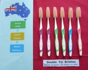 Double-Tip-PBT-Bristles-Adult-Toothbrushes-Pack-of-6-Assorted-Colours