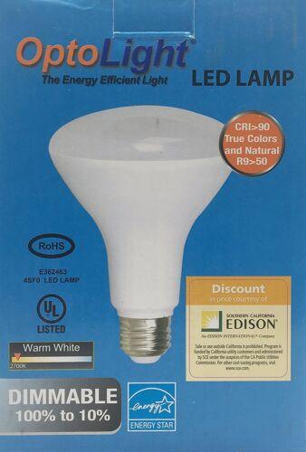 BR30 LED Dimmable Bulbs LOT//54pcs 75W= 11W OptoLight 2700K Soft White  no-tax