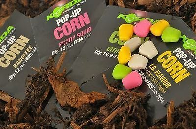 Hairstops All Flavours Fishing Tackle Hot Sale 50-70% OFF Brilliant Korda Pop Up Corn Fake Food 12pk Other Fishing