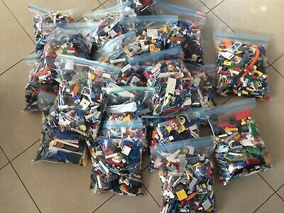 BULK GREAT MIX FOR CREATIVE KIDS 4KG LEGO BUILDING PACKS x3400pc/'s!