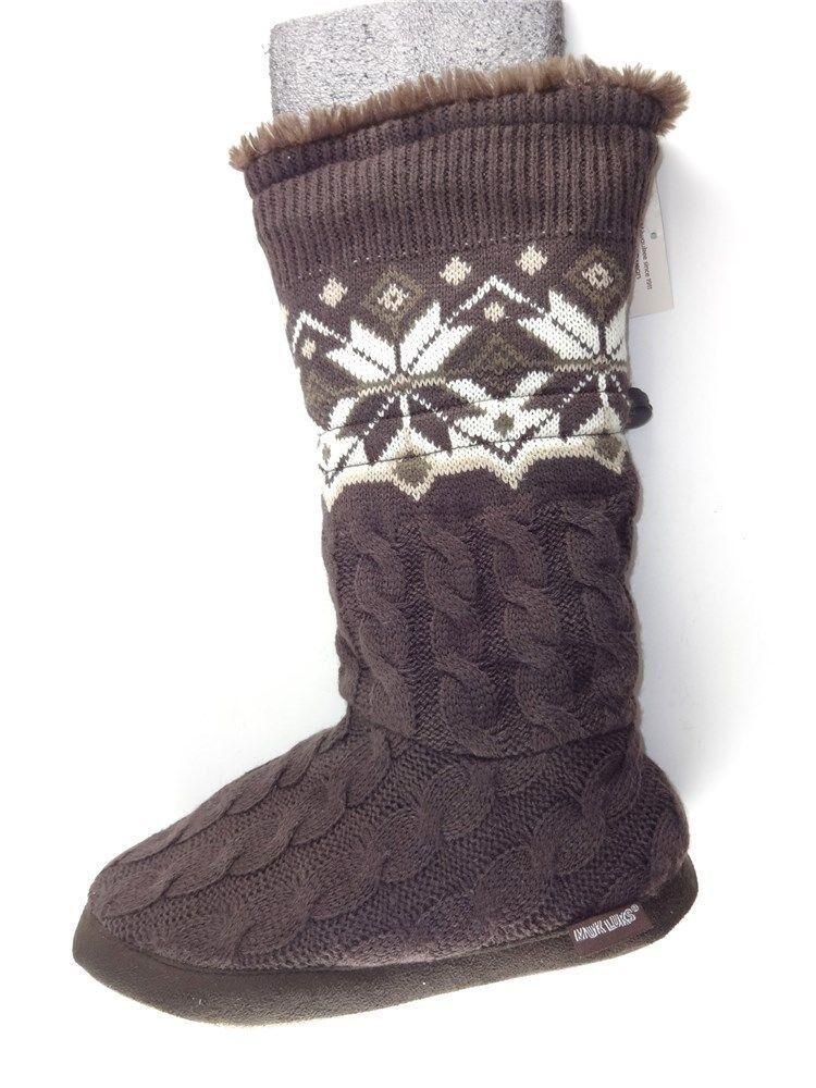 Mukluks Mukluks Mukluks Girls' Toggle Boot Saddle Braun Größe 10 M cbf9b4